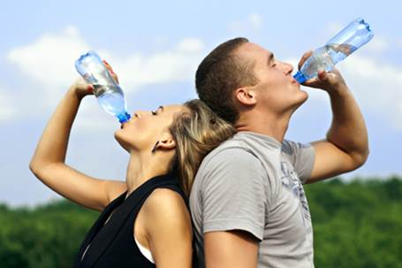 Drinking H2O replenishes both cell and blood volume and helps regulate body temperature, which can enhance recovery