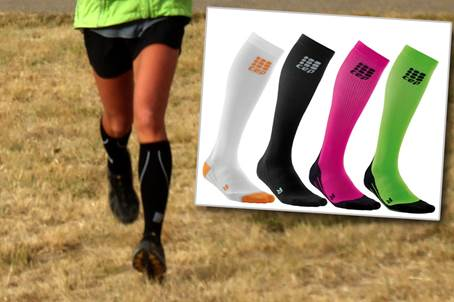 Compression socks can reduce delayed-onset muscle soreness if worn during a run