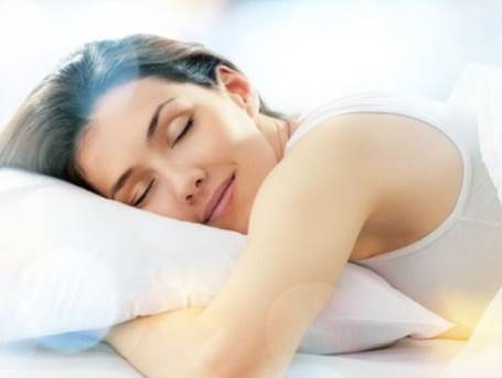 The body releases a growth hormone during sleep