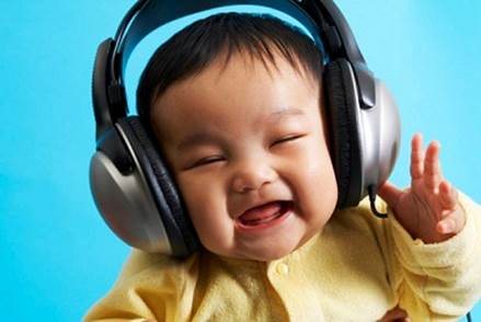 If music is used with correct level and on time, it will stimulate brain cells to develop.