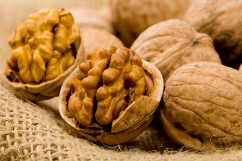 If you ate too much fat, you could some walnuts after the meal.
