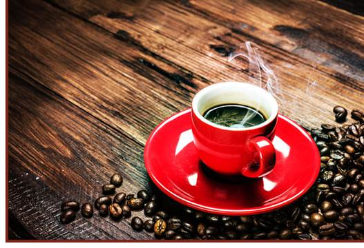 Caffeine contained in coffee is able to disturb pain transportation