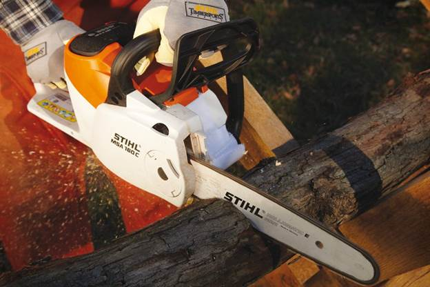 Stihl gasoline-powered equipment.