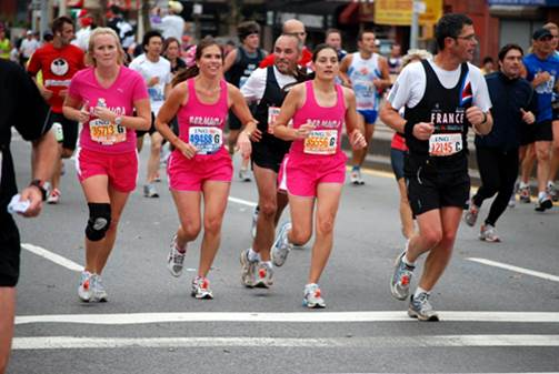 For many marathoners, training consists of running as much as they can, as far as they can, as fast as they can