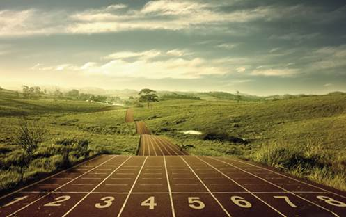 Repeat the time trial every two weeks or so to track your progress