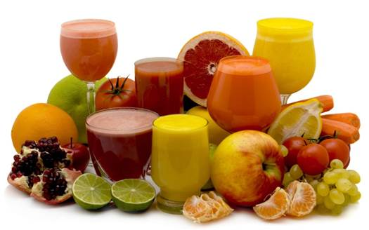 The high level of sugar in juice can destroy the enamel and stomach discomfort.