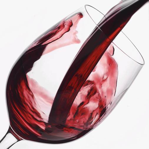 To protect liver, men should give up wine.