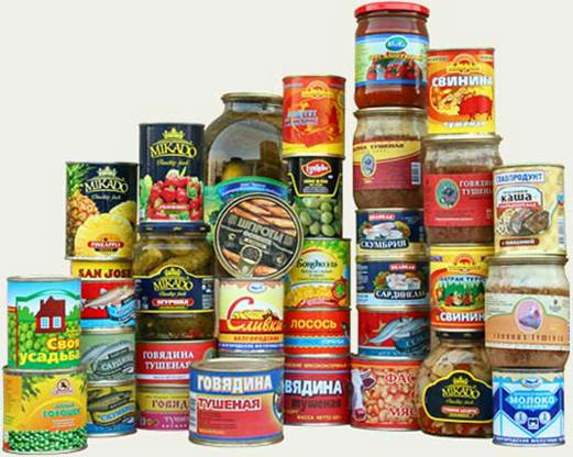 Eating canned foods regardless of fruits canned or foods will have the risk of catching stomach ulcers.