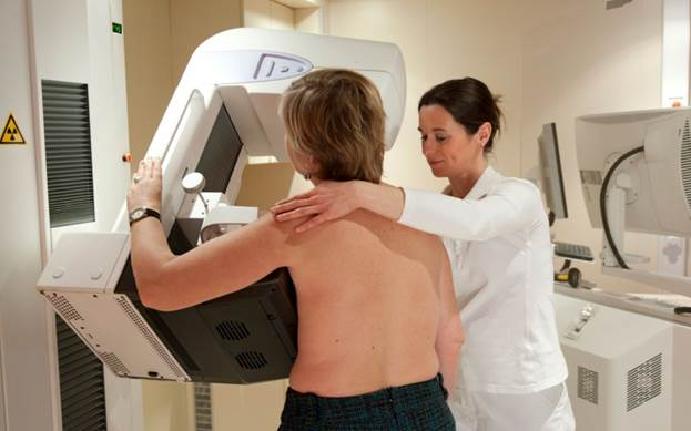 The number of early breast-cancer cases had shot up since mammography became common three decades ago but tha advanced cancer cases hadn't declined much.