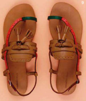 Description: 9. Sandals, $119, by Country Road.