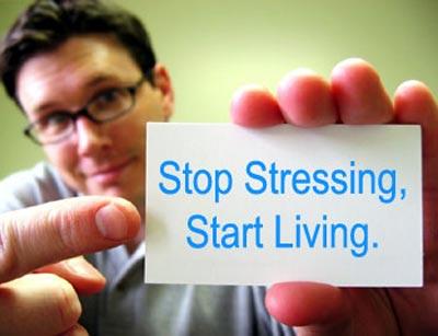 Description: Money stress, relationship stress, exam stress, health stress - STOP THEM ALL!