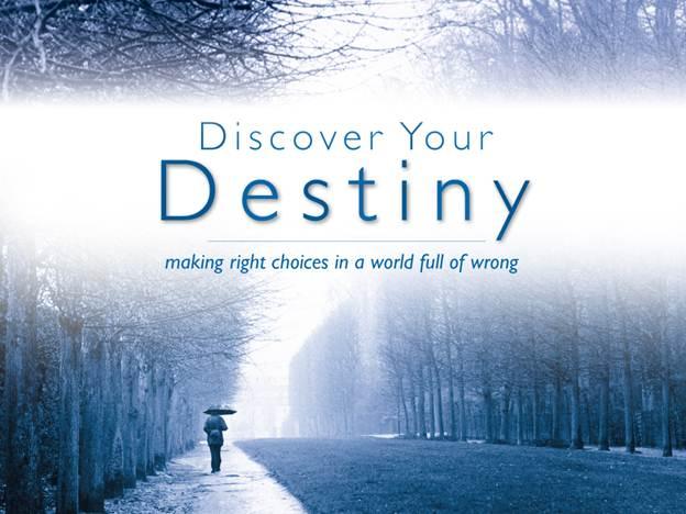 Description: Discover your destiny