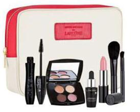 Description: Camilla and marc for Lancôme Set, $79, exclusively at David Jones stores. Includes Hypnôse Doll Eyes Mascara with travel-sized Colour Design Quad, Génifique Youth Activator, Colour Design Lipstick and two make-up brushes.
