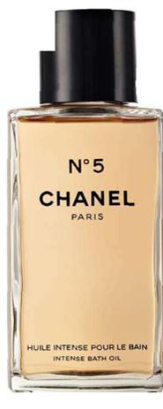 Description: Chanel No 5 Intense Bath Oil, $129.