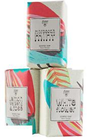 Description: Bloom Scented Soap Trio, $19.95.