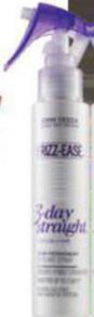 Description: John Frieda Frizz-Ease 3-Day Straight, $16.99