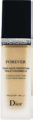 Description: Dior Diorskin Forever Flawless Perfection Fusion Wear Makeup SPF 25 in Light Beige, $77,
