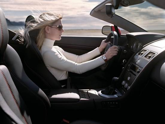 Description: Women behind the wheel