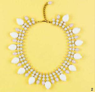 Description: 2. Necklace, $1,250, from Harlequin Market.