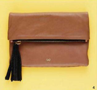 Description: 4. Clutch, $795, by Anya Hindmarch at my-wardrobe.com.