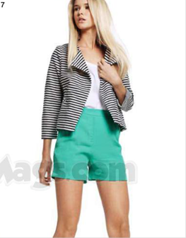Description: 7. Jacket, $169.95, by Seed Heritage; singlet, $99, by Morrison; shorts, $99.95, by Witchery.