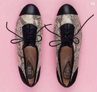 Description: 10. Shoes, $145, by Bloch.
