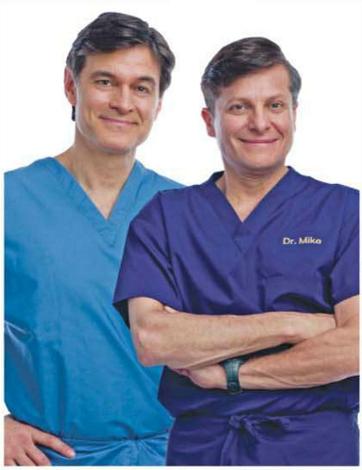 Description:  Dr Michael Roizen and Dr Mehmet Oz