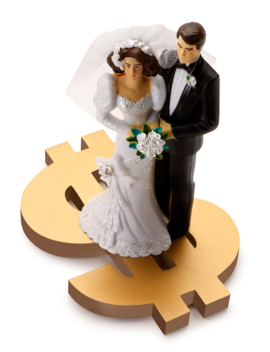 Description: Wedding cost breakdown