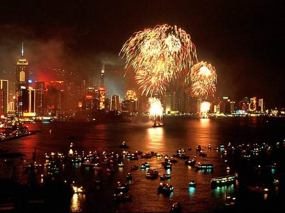 Description: Chinese New Year celebrations in Hong Kong will be especially festive in 2012 as the auspicious year of the dragon is welcomed in.