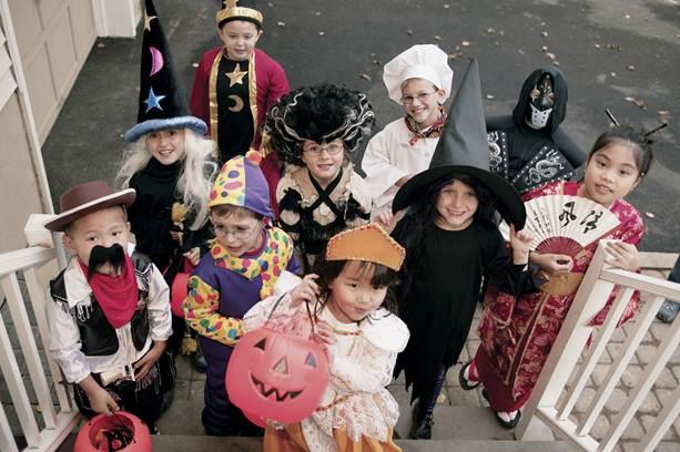Description: October: Halloween in NYC
