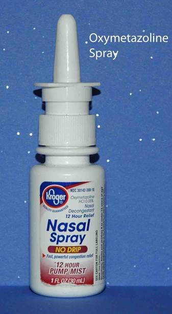 For a drippy nose, try nasal sprays or drops with oxymetazoline