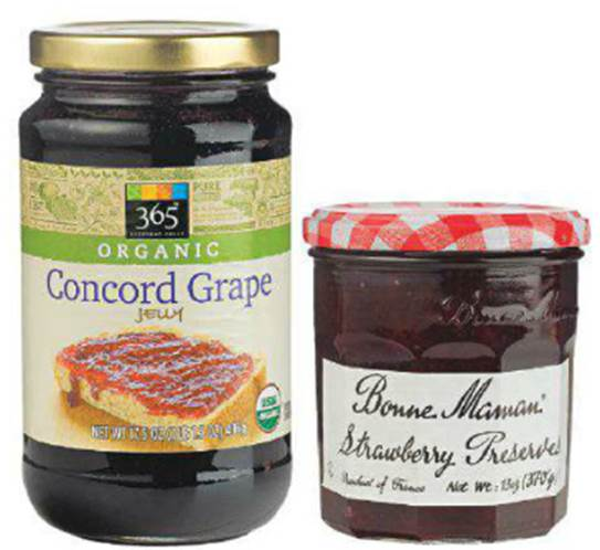 365 Everyday Value:Organic concord & Bonne Maman Preserves