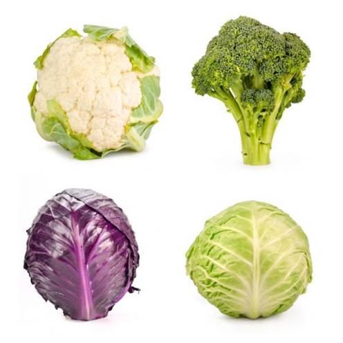 Sulphur support your liver so it can detox excess hormones with sulphurous broccoli, cauliflower and cabbage.