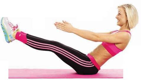 Areas Trained: Core, Sides Of Stomach, Inner Thighs, Pelvic Floor