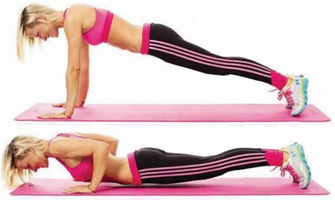 Areas Trained: Rear Upper Arms, Shoulders, Chest