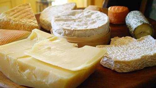 Cheese is not really a safe food for pregnant women to eat.
