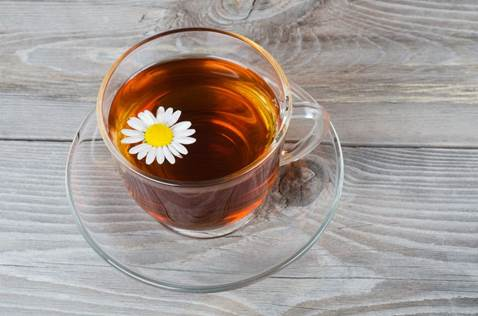 Chamomile can bring you good sleep.
