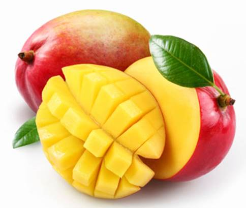 Moms should be aware in case babies are allergic to mango.