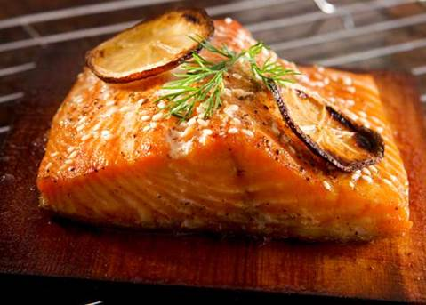 Salmon is the best fish for its highest level of omega-3.