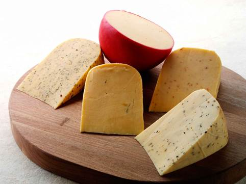 Remember to heat the cheese up before eating to kill the bacteria.