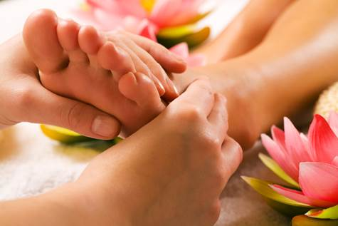 Regular massages will be good for your tired feet.
