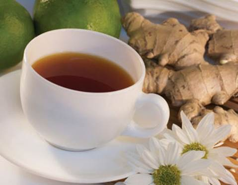 A cup of ginger tea can help you overcome the nausea of the morning sickness.