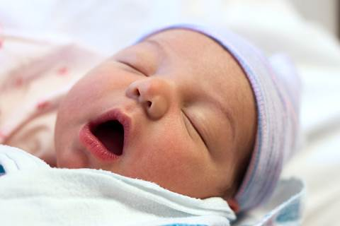 The unusual expressions of babies while sleeping can forecast their diseases.