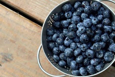 Blueberries are good for women after been through labor.