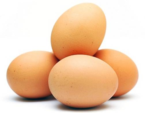 Eggs are packed with nutrients and high in protein.