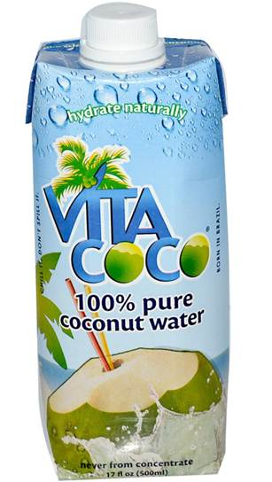 Vita Coco Natural Coconut Water offers a natural route to hydration.