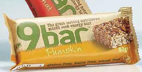 Peanut and Pumpkin 9bars