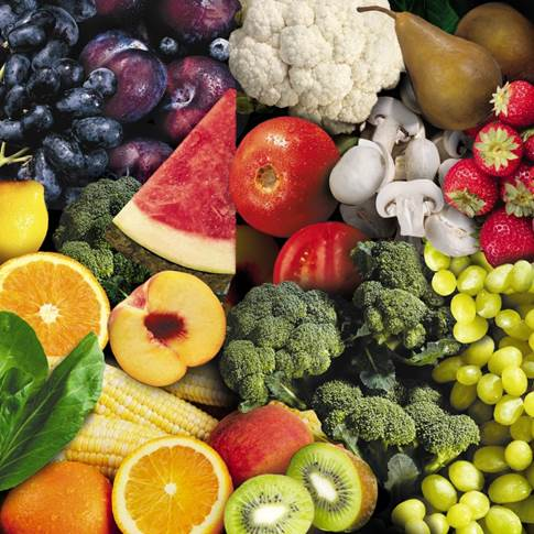 Antioxidants are the best way to fight free radicals, so it's important to eat plenty of brightly colored fruits and vegetables.