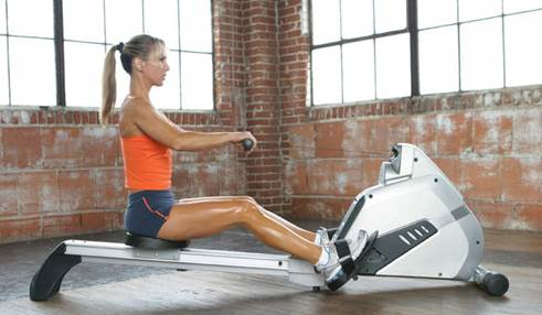 Hands up if you find the rowing machine a little daunting?