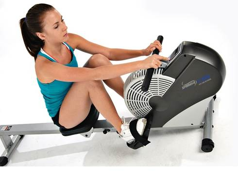 the cardiovascular movement of rowing gives your heart and lungs a great workout, too.